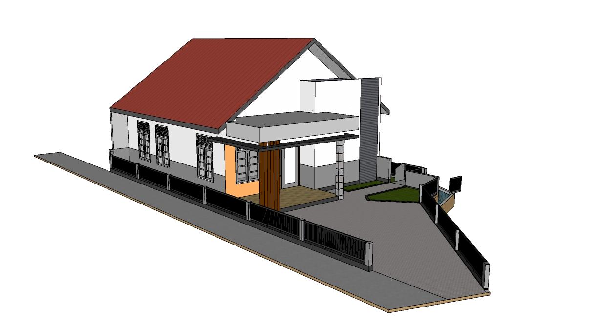 Desain Rumah Di Lahan Menurun