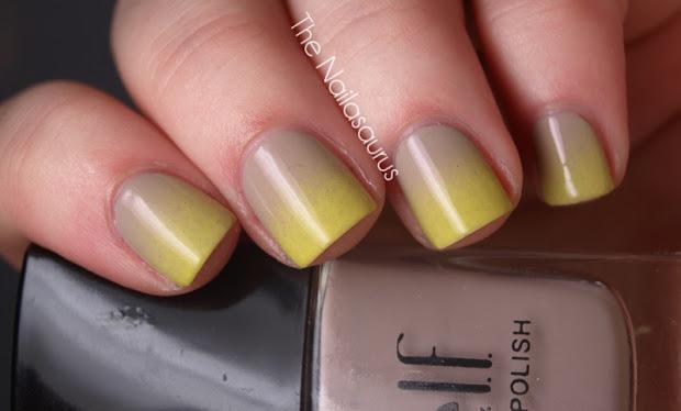 gradient nails part trois