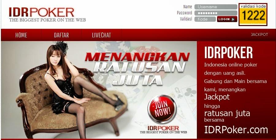 IdrPoker.com Agen Texas Poker Online Indonesia Terpercaya