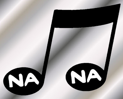 A musical note with Na Na written on it