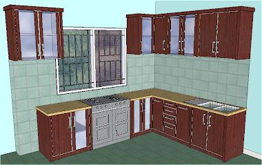 Kitchen set Bapak Abdurrakhman  Lenteng Agung