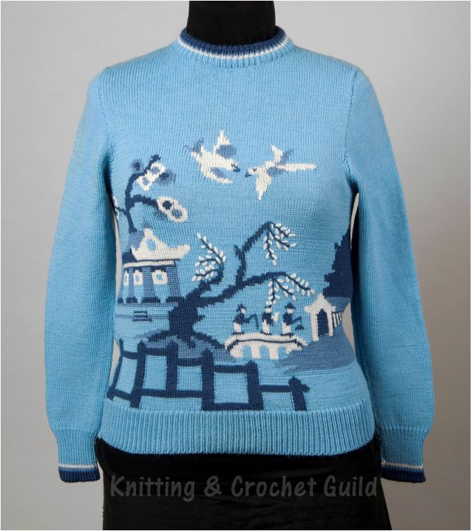 Knitting Now And Then Willow Pattern And Others