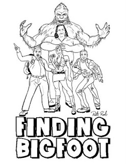 North american bigfoot rictor riolo 39 s finding bigfoot art for Printable bigfoot coloring pages