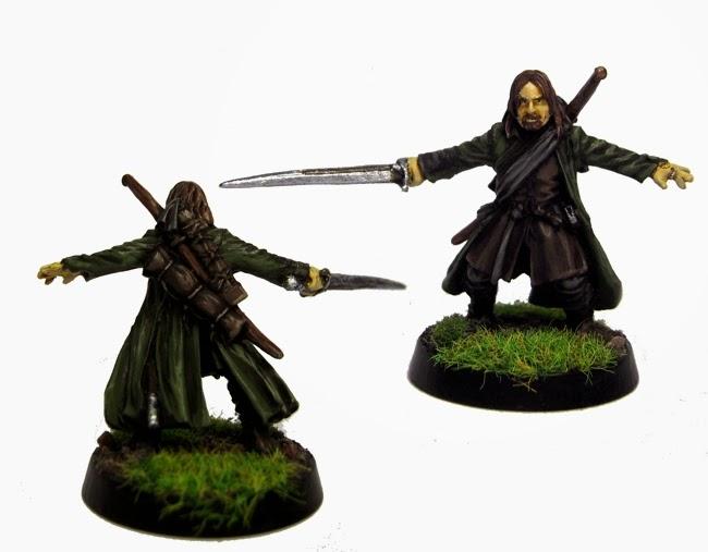 Pintando a Mister Sith: El Señor de los Anillos: mi compañía y Saruman