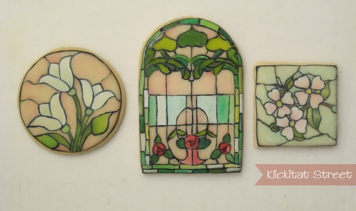 Stained Glass Window Cookies and an Easy Transfer Technique ...