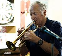 'Smokin' Joe van Rossem with Mike White's horn