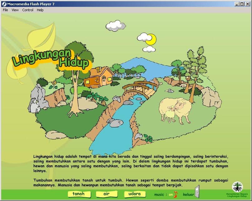 pengertian lingkungan hidup dan slogan lingkungan hidup