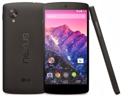 LG Nexus 5 Ponsel Android KitKat Pertama Harga Rp 4 Jutaan