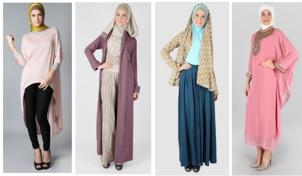 Baju muslim modern modis dan trendy model paling terbaru Baju gamis pasar baru bandung