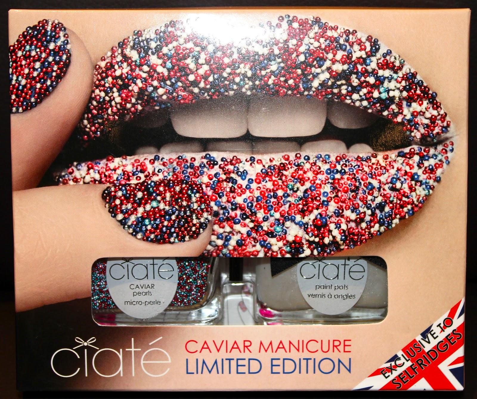 Ciate Caviar Nails: Ciate Jubilee Caviar Manicure