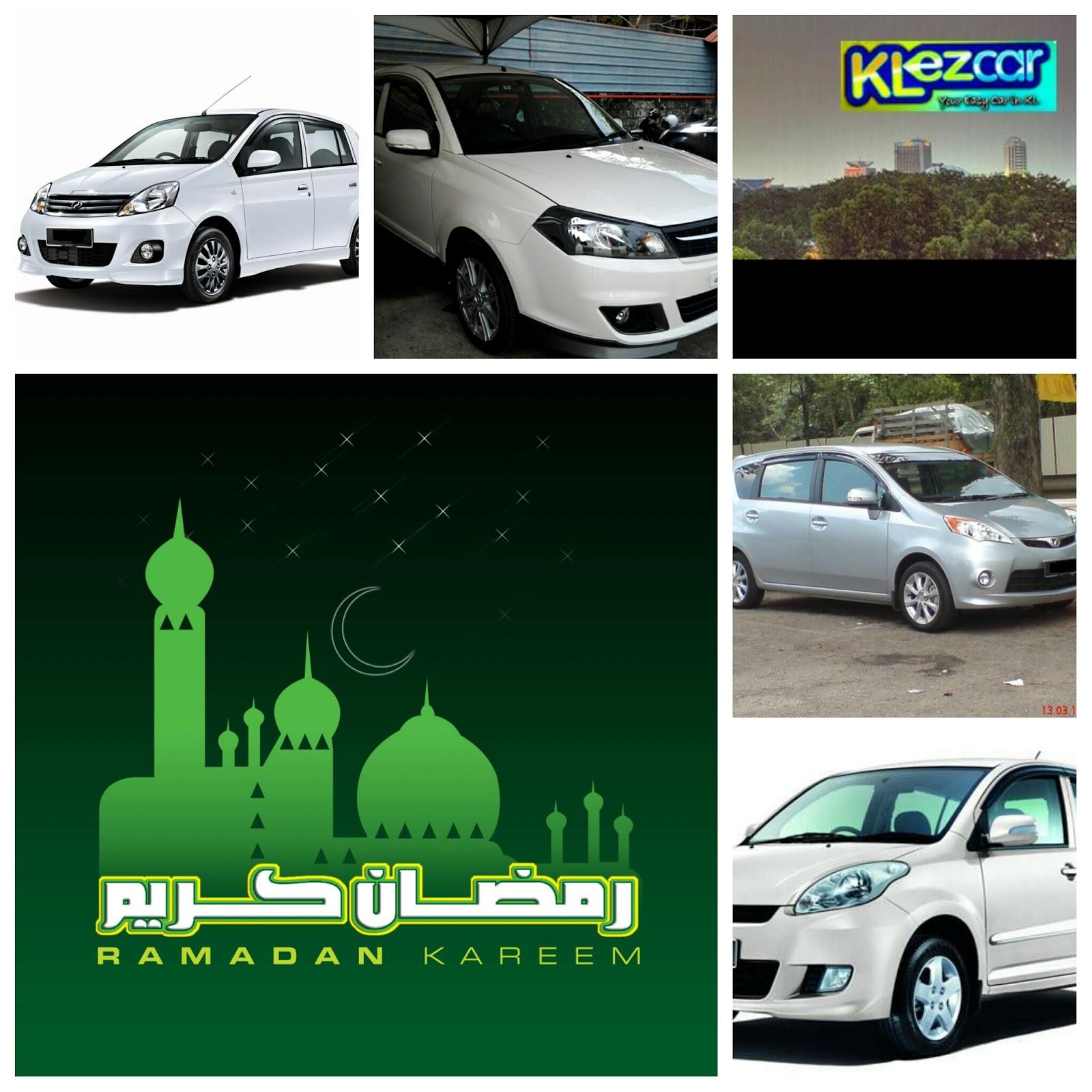 sewa kereta shah alam ramadhan