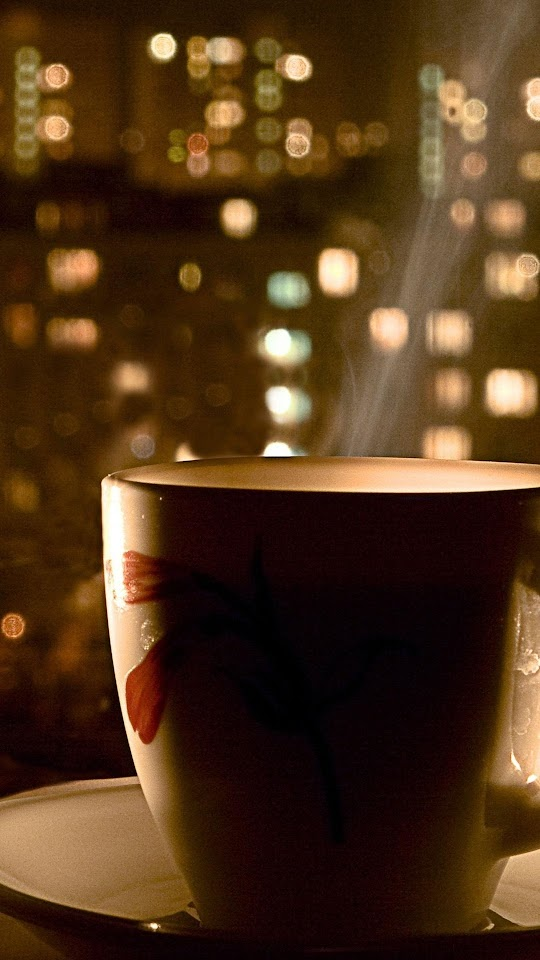 Hot Coffee City View  Galaxy Note HD Wallpaper