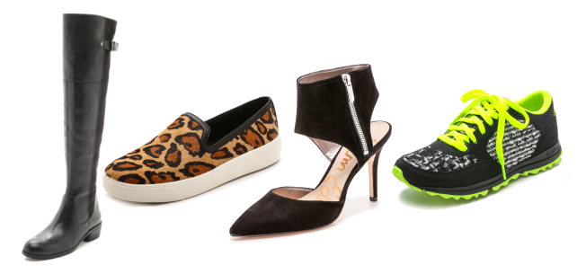 Black friday with shop bop, sam edelman shoes