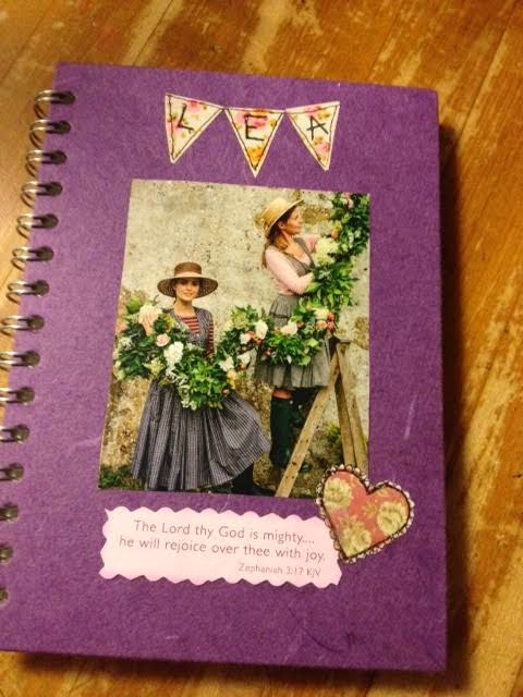 My beautiful new Garden Journal