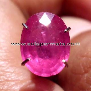 Batu Permata Pink Sapphire