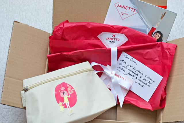 Pochette de Janette magazine luxembourg beauty box