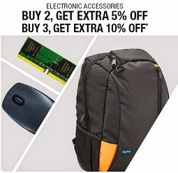 Clearance Sale: Upto 90% Off + Extra 10% or 5% Off on Storage, Computer & Mobile Accessories @ Flipkart (Valid till 27th Nov'14)