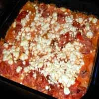 Tomato and Goat Cheese Manicotti