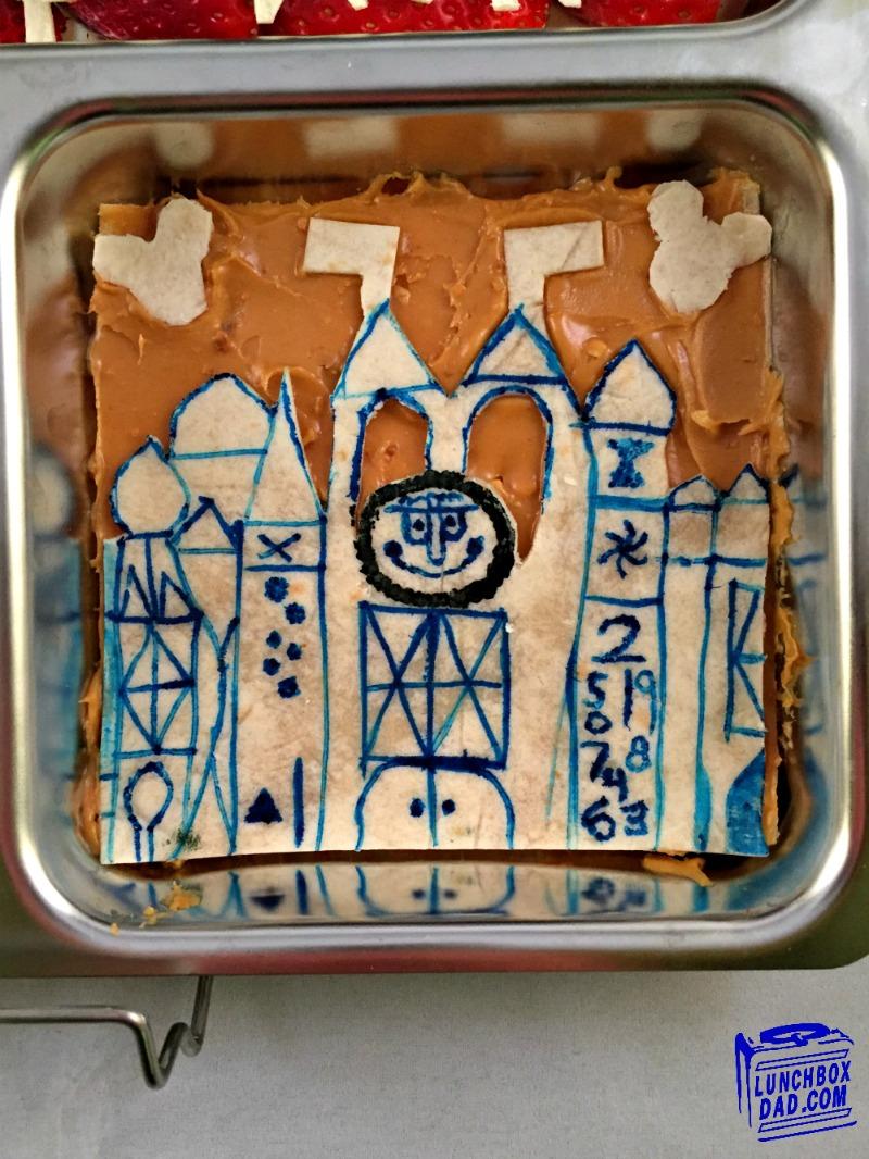 Disneyland It's a Small World Bento Lunch #Disneyside