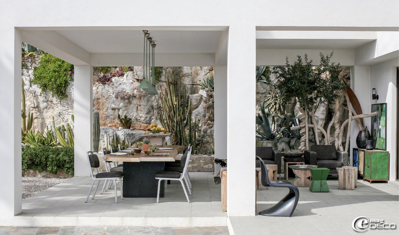 La terrasse de la maison d'hôtes 'La Suite Cassis'