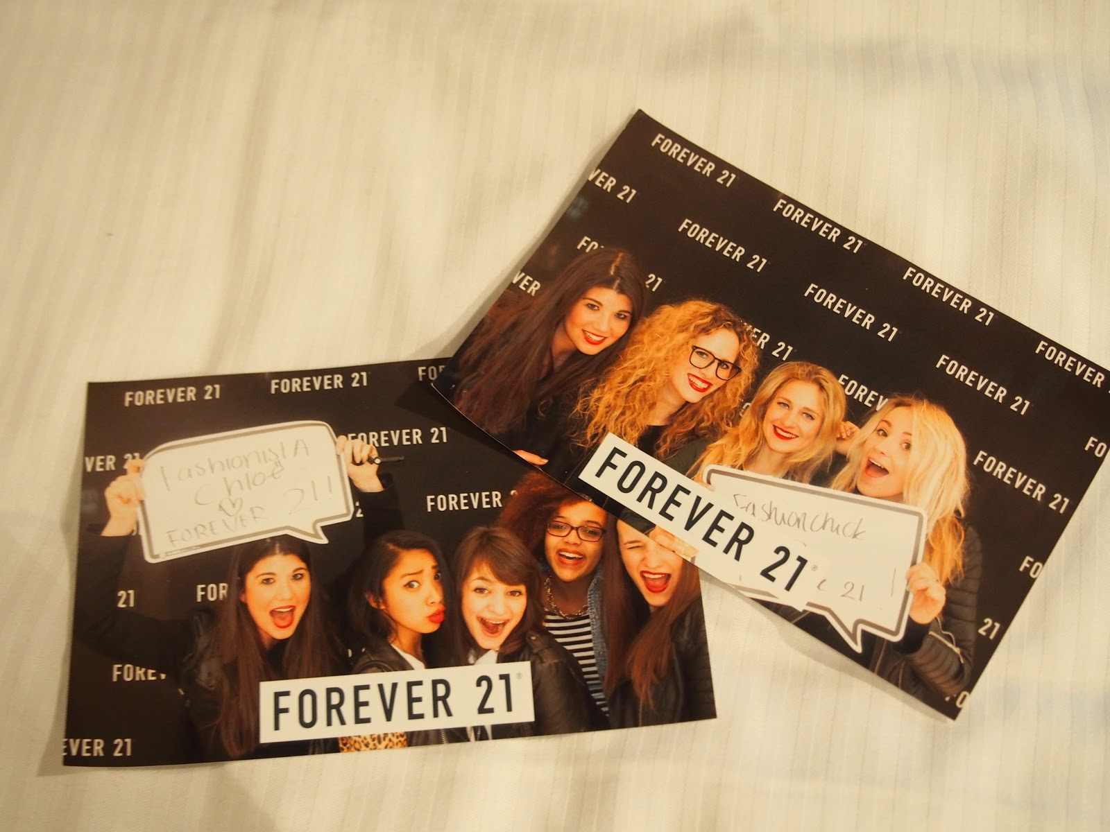 Forever21 opening Amsterdam store impression photobooth fun
