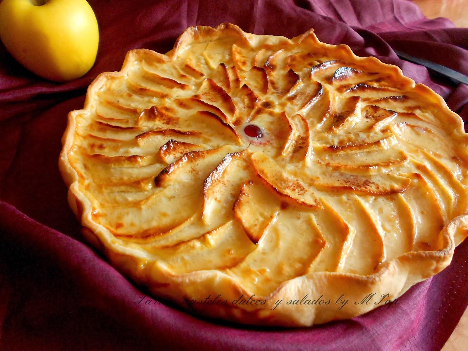 Nestle kuchen de manzana