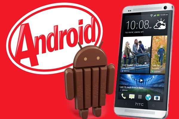 طريقة تحديث هاتف HTC One M8 والحصول علي أندرويد 4.4.4 كيت كات