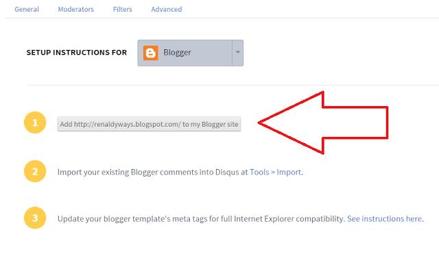 Cara Memasang Komentar Disqus Di Blog
