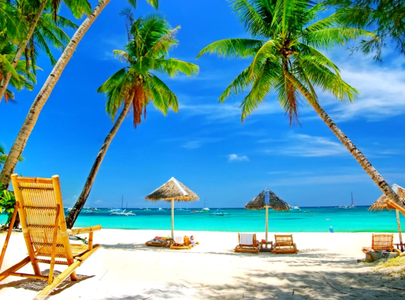 tropical beach paradise backgrounds | best image background