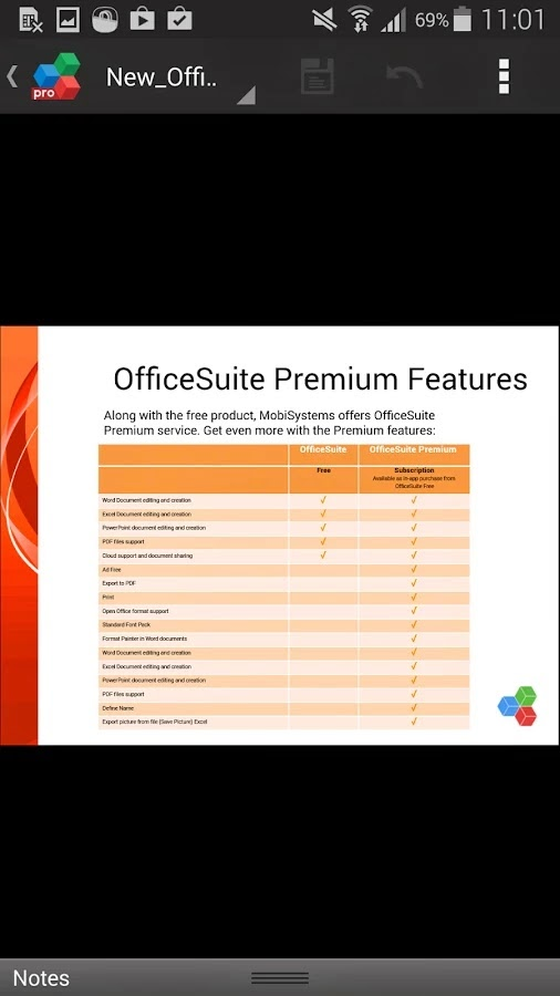 OfficeSuite Premium 7 (PDF&Fonts) v7.5.2039