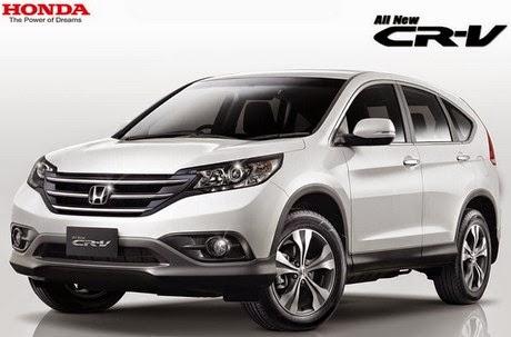 Daftar Harga Mobil Honda CRV Baru dan Bekas 2015