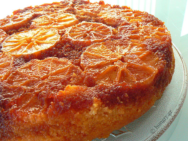 Caramelised Orange Cake