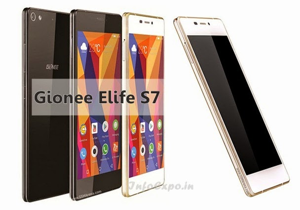 Gionee Elife S7: 5.2 inch,1.7 GHz Octa-core Android Lollipop Phone Specs, Price