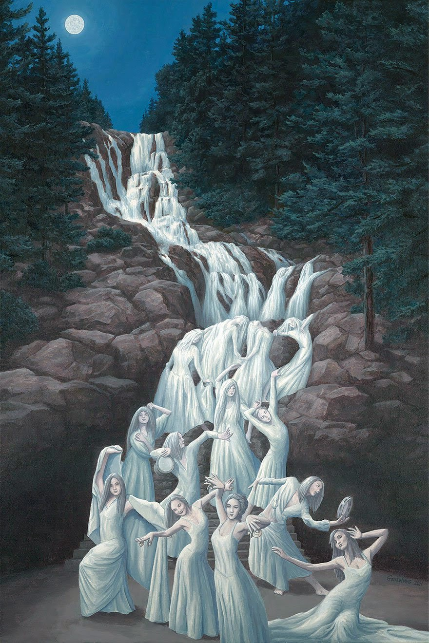 Illusion Paintings For Sale