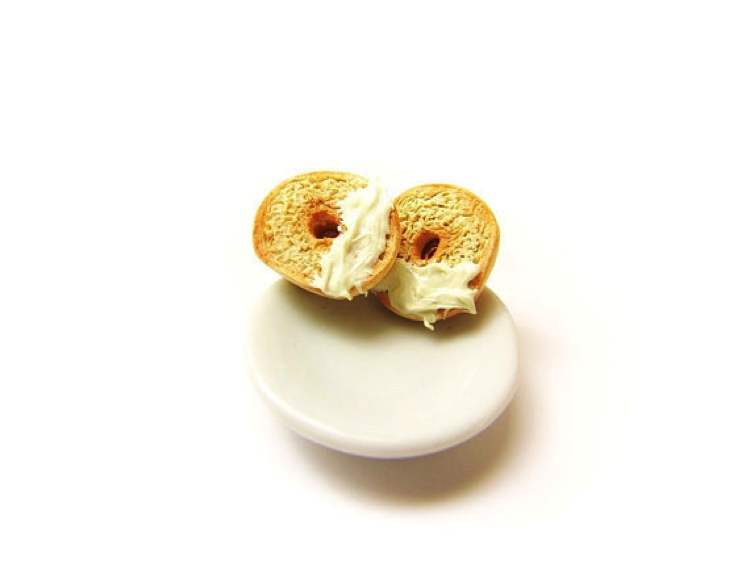 Bagel Earrings