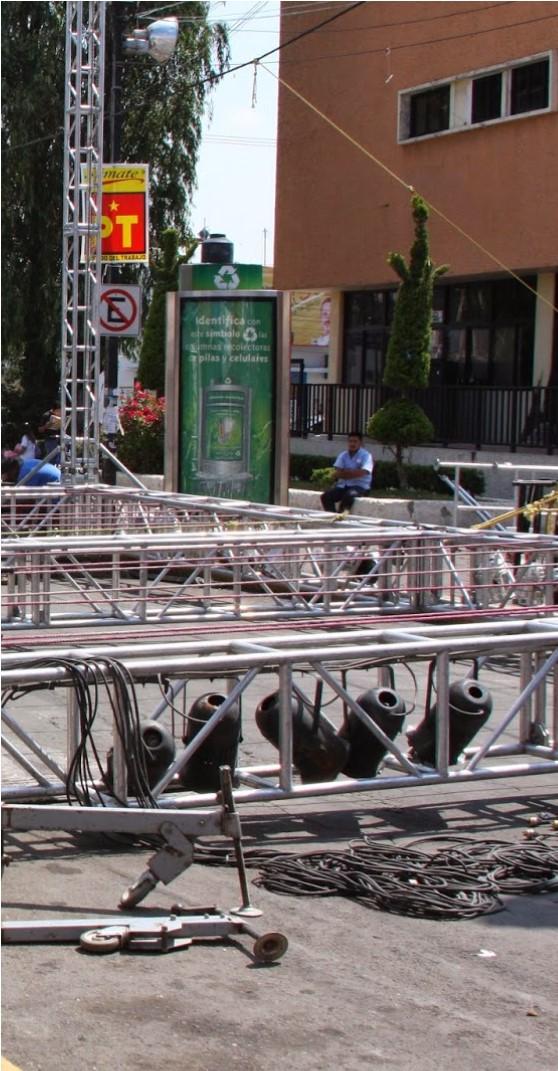 Feria de Tláhuac otra vez se lleva a cabo en el centro de la población