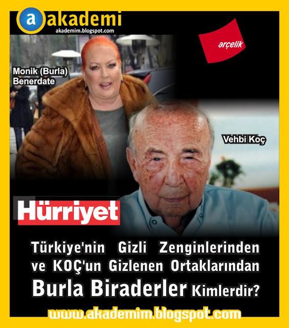 Türkiye'nin Gizli Zenginlerinden ve KOÇ'un Gizlenen Ortaklarından Burla Biraderler Kimlerdir?