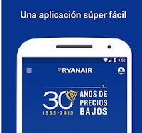 Conoce y Descarga la App RyanAir Tarifas mas Baratas