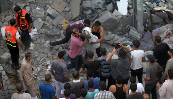 Ibu Hamil Dan Anak Terbunuh Akibat Serangan Udara Israel Laknatullah