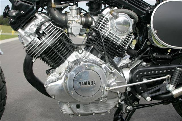 Racing Caf U00e8  Yamaha Virago 920 Scrambler By Hageman Motorcycles