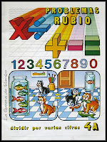 Dividir por varias cifras. Cuadernillo 4A de la colección Problemas Rubio