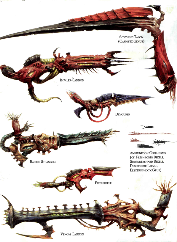 Derpzilla Gaming: Tyranid Review: Army Special Rules ...