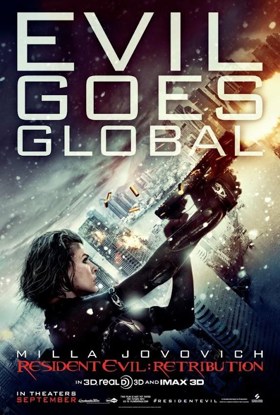 ตัวอย่างหนังใหม่ : Resident Evil:Retribution (ผีชีวะ 5:สงครามไวรัสล้างนรก) (Alice 's Story) ซับไทย poster