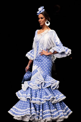Inspiration Flamenca dress Carmen Latorre