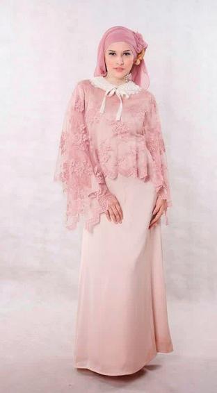 Gambar Gaun Pesta Muslim yang Elegan