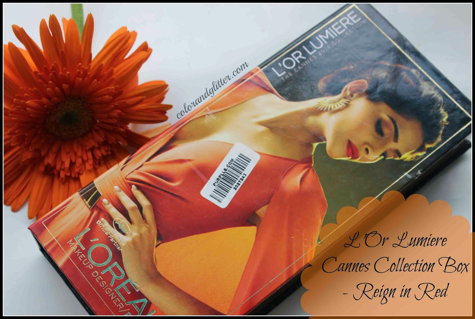 L'Oreal Paris L'Or Lumiere Cannes Collection Box - Reign in Red