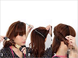 cara mengikat rambut