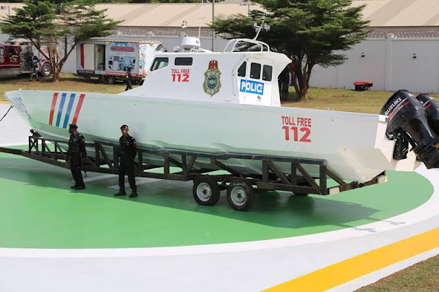 Ambode Commisions Gun Boats,Helicopters, Armoured Vehicles To Boost Security In Lagos(Photos)