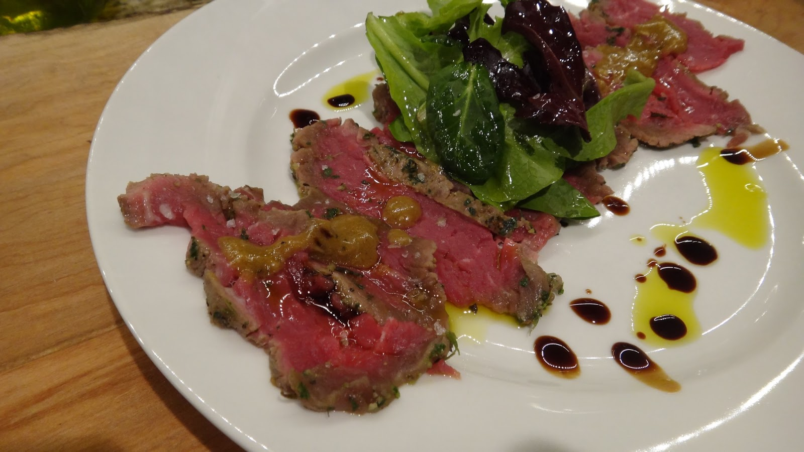 want to cook that: Beef Carpaccio