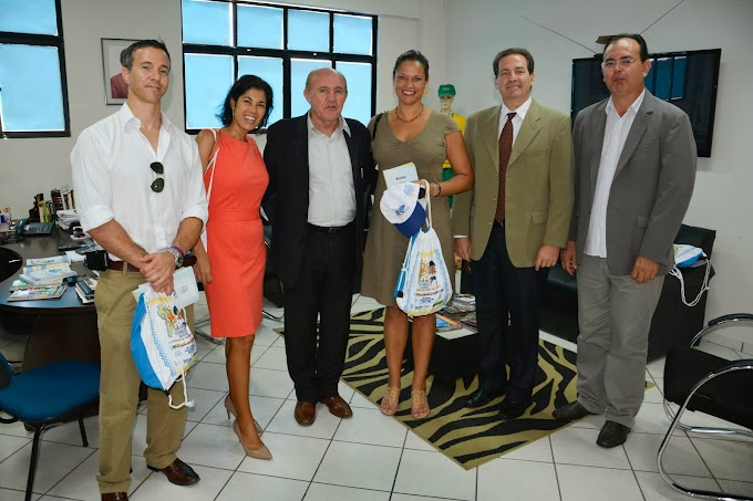 Secretaria do Esporte e do Lazer do RN trata de parceria no futebol feminino com a cônsul dos Estados Unidos